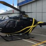 На JetExpo представлен вертолет EC135 в VIP-комплектации