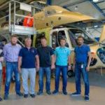 """Техники """"ЮТэйр"""" первыми начали обучение на вертолете EC175"""